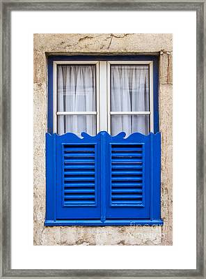 Typical Window Framed Print