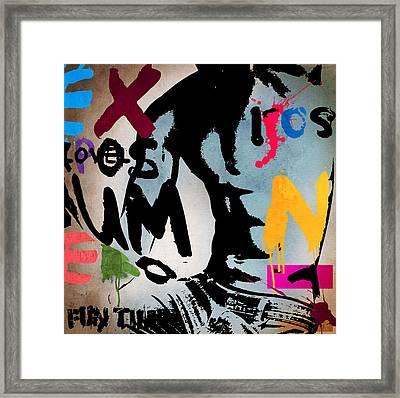 Typography Male  Framed Print by Mark Ashkenazi