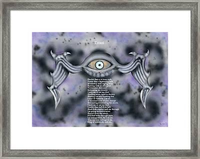 Tyrant. Framed Print by Kenneth Clarke