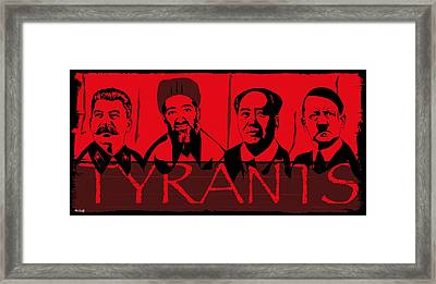 Tyrants Framed Print by Roby Marelly