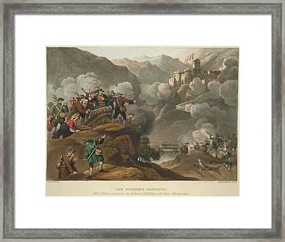 Tyrolese Patriots Framed Print