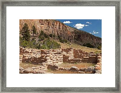 Tyuonyi Bandelier National Monument Framed Print