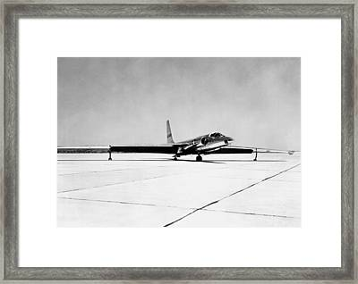 U-2 Reconnaissance Aircraft Framed Print by Underwood Archives
