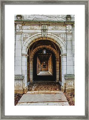 U Of M Law Framed Print by Pat Cook