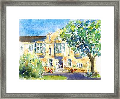 U Of S College Building Framed Print by Pat Katz