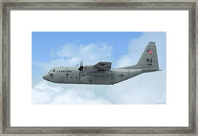 U. S. Air Force C-130 Hercules Framed Print