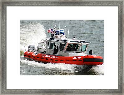 U. S. Coast Guard - Speed Framed Print