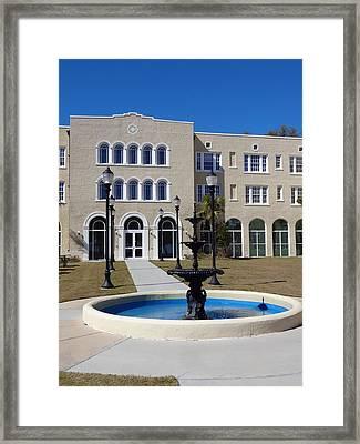 U S M Gulf Coast Hardy Hall Framed Print