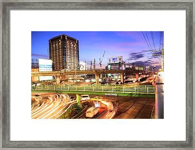 U-turn Framed Print by Mario Legaspi
