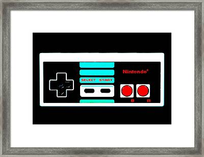 U U D D L R L R B A S S Framed Print by Benjamin Yeager