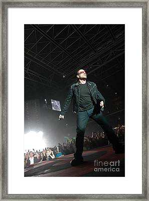 U2 Framed Print by Jenny Potter