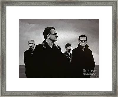 U2 Framed Print by Paul Meijering