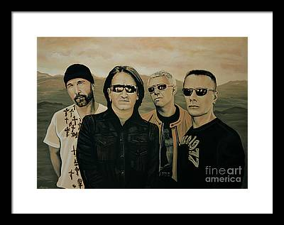 No-one Paintings Framed Prints