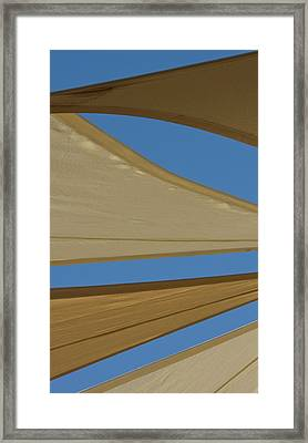 Uae, Fujairah Sand-colored Canvas Framed Print by Jaynes Gallery