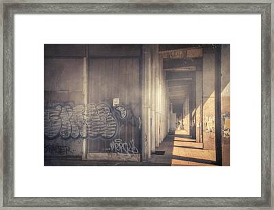 Ubytovna Framed Print