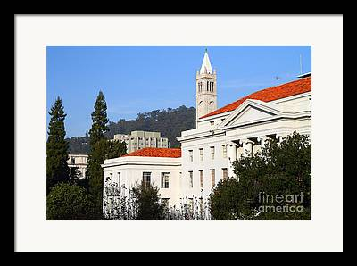 University Of California At Berkeley Framed Prints