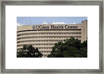 University Of Connecticut Uconn Health Center Framed Print