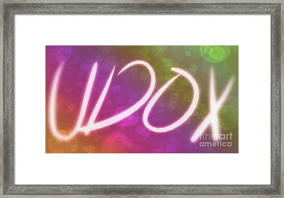 Udox 03 Framed Print by Jose Benavides