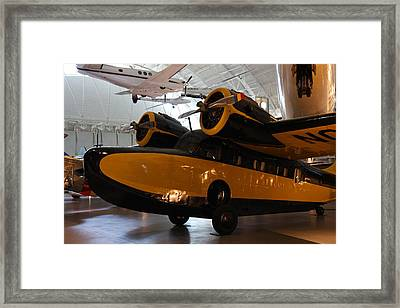 Udvar-hazy Center - Smithsonian National Air And Space Museum Annex - 1212100 Framed Print by DC Photographer