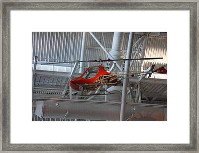 Udvar-hazy Center - Smithsonian National Air And Space Museum Annex - 1212101 Framed Print