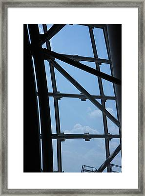 Udvar-hazy Center - Smithsonian National Air And Space Museum Annex - 1212103 Framed Print
