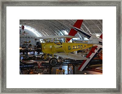 Udvar-hazy Center - Smithsonian National Air And Space Museum Annex - 1212107 Framed Print by DC Photographer