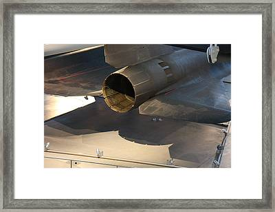Udvar-hazy Center - Smithsonian National Air And Space Museum Annex - 1212108 Framed Print by DC Photographer