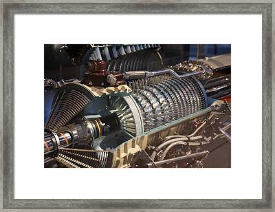 Udvar-hazy Center - Smithsonian National Air And Space Museum Annex - 121211 Framed Print