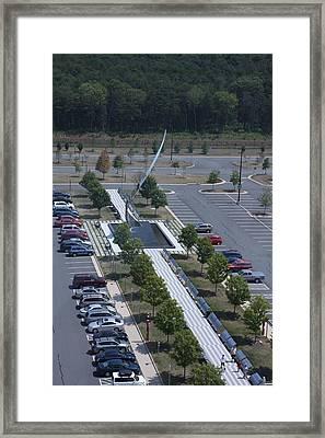 Udvar-hazy Center - Smithsonian National Air And Space Museum Annex - 1212111 Framed Print