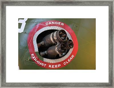 Udvar-hazy Center - Smithsonian National Air And Space Museum Annex - 121219 Framed Print