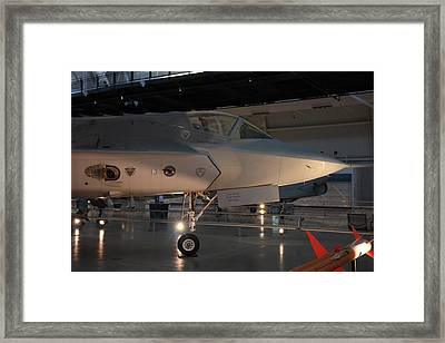 Udvar-hazy Center - Smithsonian National Air And Space Museum Annex - 121221 Framed Print by DC Photographer