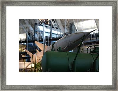 Udvar-hazy Center - Smithsonian National Air And Space Museum Annex - 121224 Framed Print by DC Photographer