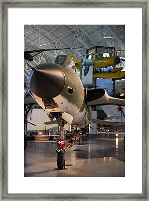 Udvar-hazy Center - Smithsonian National Air And Space Museum Annex - 121225 Framed Print by DC Photographer