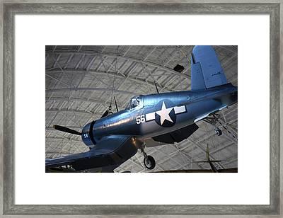 Udvar-hazy Center - Smithsonian National Air And Space Museum Annex - 121228 Framed Print
