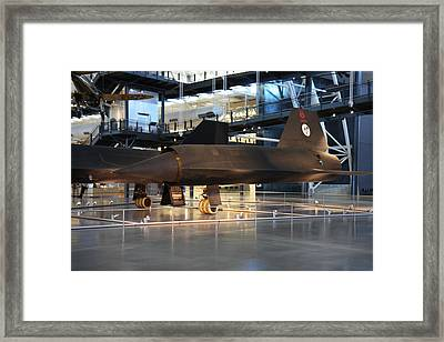 Udvar-hazy Center - Smithsonian National Air And Space Museum Annex - 121229 Framed Print
