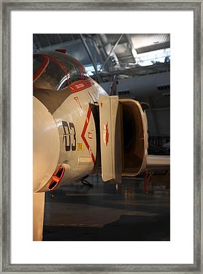 Udvar-hazy Center - Smithsonian National Air And Space Museum Annex - 121232 Framed Print