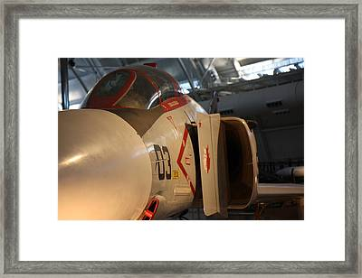 Udvar-hazy Center - Smithsonian National Air And Space Museum Annex - 121233 Framed Print