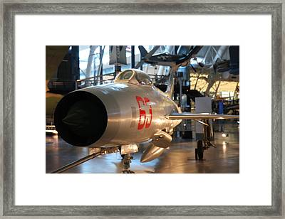 Udvar-hazy Center - Smithsonian National Air And Space Museum Annex - 121234 Framed Print by DC Photographer