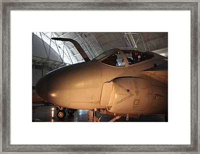 Udvar-hazy Center - Smithsonian National Air And Space Museum Annex - 121235 Framed Print by DC Photographer