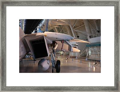 Udvar-hazy Center - Smithsonian National Air And Space Museum Annex - 121239 Framed Print by DC Photographer