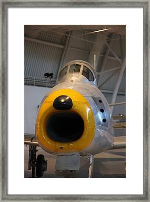 Udvar-hazy Center - Smithsonian National Air And Space Museum Annex - 121244 Framed Print by DC Photographer