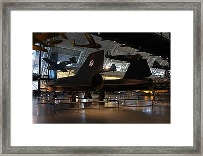 Udvar-hazy Center - Smithsonian National Air And Space Museum Annex - 121247 Framed Print by DC Photographer