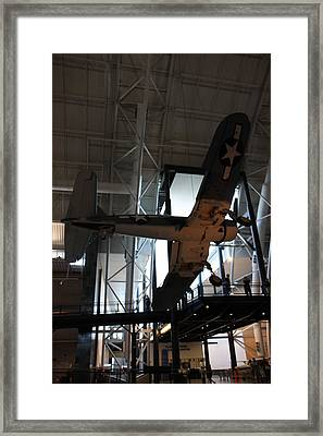 Udvar-hazy Center - Smithsonian National Air And Space Museum Annex - 121248 Framed Print by DC Photographer