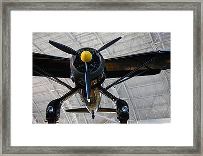 Udvar-hazy Center - Smithsonian National Air And Space Museum Annex - 121249 Framed Print