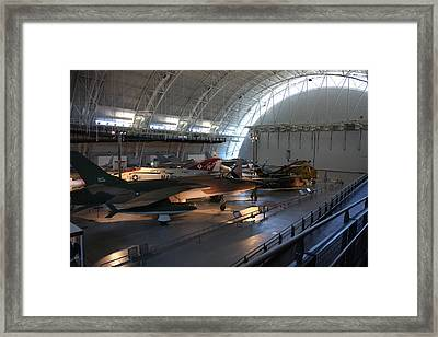 Udvar-hazy Center - Smithsonian National Air And Space Museum Annex - 12125 Framed Print by DC Photographer