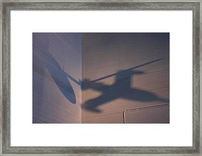 Udvar-hazy Center - Smithsonian National Air And Space Museum Annex - 121259 Framed Print
