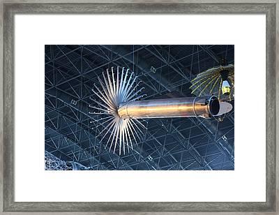 Udvar-hazy Center - Smithsonian National Air And Space Museum Annex - 121262 Framed Print