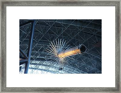 Udvar-hazy Center - Smithsonian National Air And Space Museum Annex - 121263 Framed Print by DC Photographer