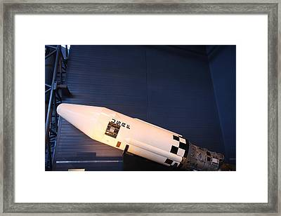 Udvar-hazy Center - Smithsonian National Air And Space Museum Annex - 121264 Framed Print