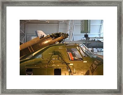 Udvar-hazy Center - Smithsonian National Air And Space Museum Annex - 12127 Framed Print